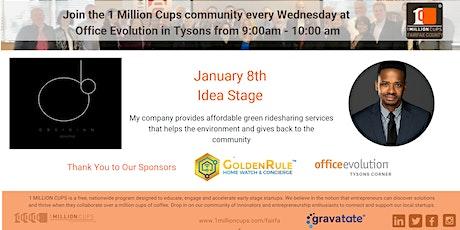 1 Milion Cups - Fairfax | Obsidian Presenting tickets