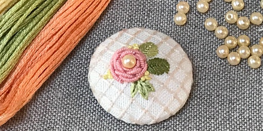 Embroidery workshop: Bullion Knot Roses