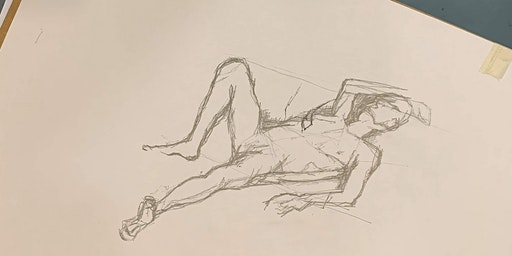 Life Drawing at Gallery Oldham: JULY