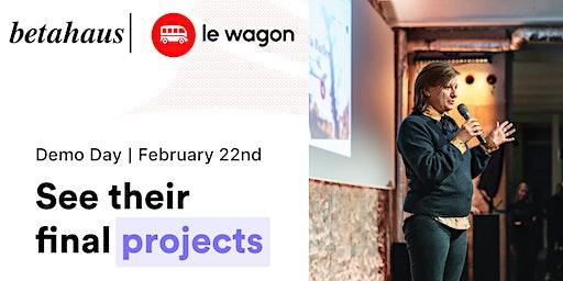 Le Wagon Demo Day - February 2020