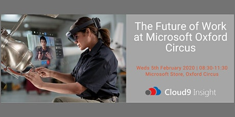 The Future of Work at Microsoft Oxford Circus tickets