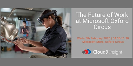 The Future of Work at Microsoft Oxford Circus