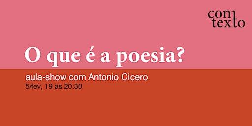 O que é a poesia?