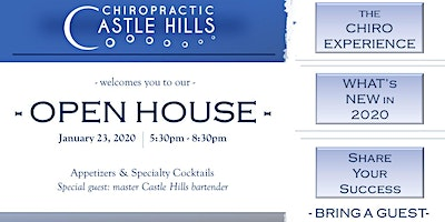 Open House at Castle Hills Chiropractic