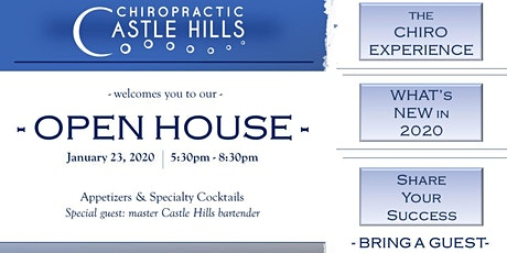 Open House at Castle Hills Chiropractic tickets