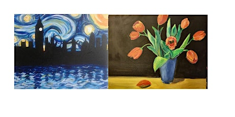 Paint Starry Night OR Tulips!  tickets