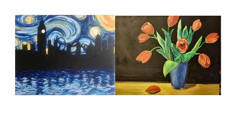 Paint Starry Night OR Tulips!