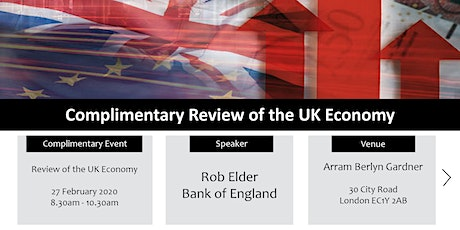 Review of the UK Economy - a must for any business owner tickets