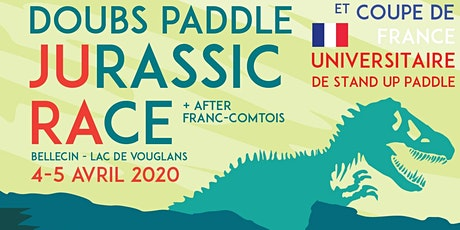 Doubs Paddle JURASSIC RACE  & CdF UNIVERSITAIRE de SUP 04-05 avril Vouglans tickets