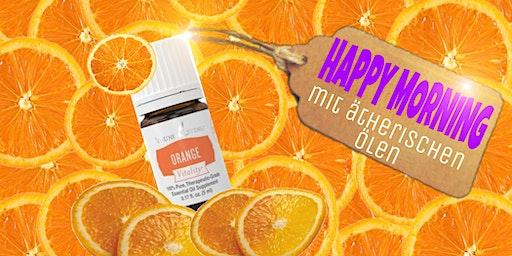 HAPPY MORNING - Dein Start mit ätherischen Ölen