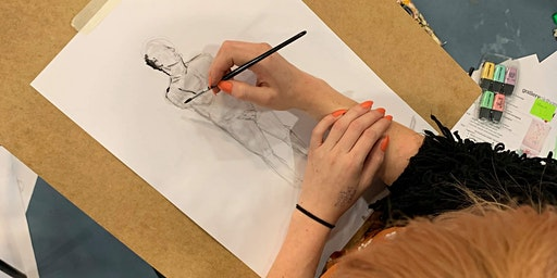 Life Drawing at Gallery Oldham: AUGUST