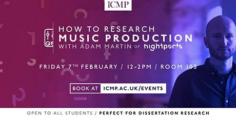 How To Research Music Production tickets