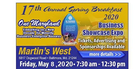 MWMCA's 17th Annual 2020 Spring Breakfast Meeting & Business Showcase Expo tickets