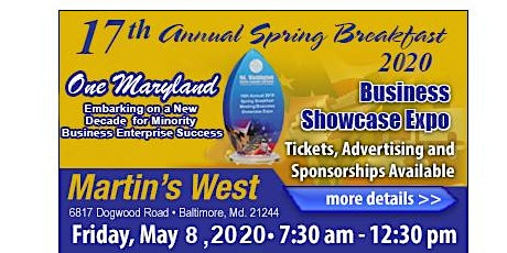 MWMCA's 17th Annual 2020 Spring Breakfast Meeting & Business Showcase Expo
