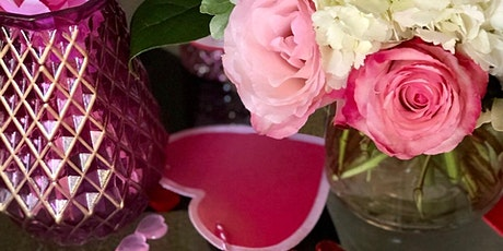 Blooms & Bubbly Floral Workshop February 2020 tickets