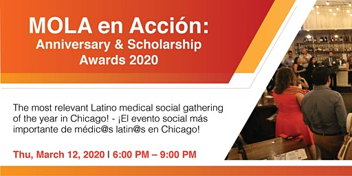 MOLA en Acción: Anniversary and Scholarship Awards 2020