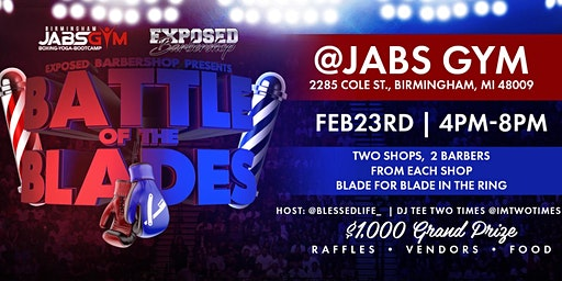 Exposed Barbershop Presents: Battle of the Blades 2020