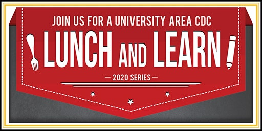 University Area CDC Lunch & Learn 2020