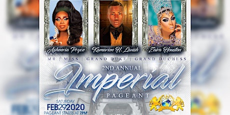 2nd Annual Mr. & Miss/ Grand Duke & Duchess Imperial Pageant tickets