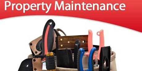 [RentingSmart] Property Maintenance: Keeping Up the Quality  tickets