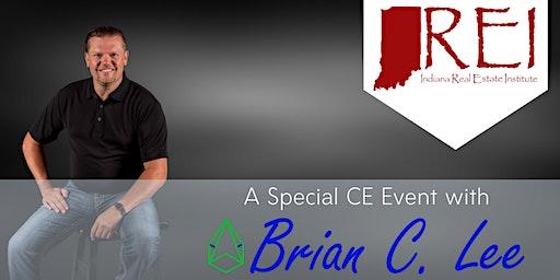 Speaker Brian C. Lee - CE Course