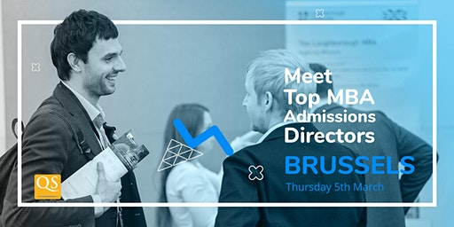 International MBA Event in Brussels - Meet Top Business Schools for FREE