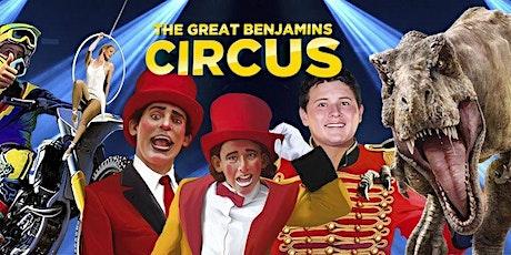 The Great Benjamins Circus tickets
