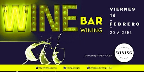 Wine Bar Wining entradas