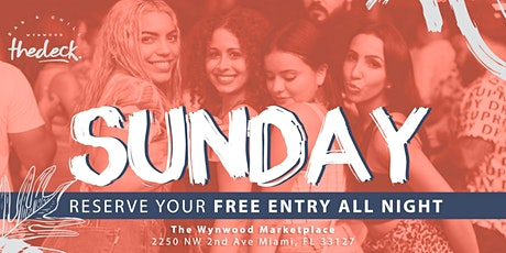 Sundays at thedeck in The Wynwood Marketplace tickets