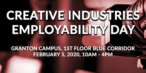 Creative Industries Employability Day 2020
