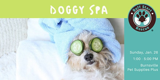 Doggy Spa (Nail Trim + Dog Wash)