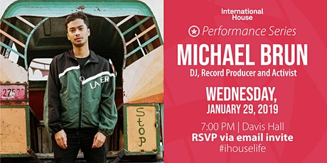 Performance Series: Michael Brun, DJ, Record Producer and Activist tickets