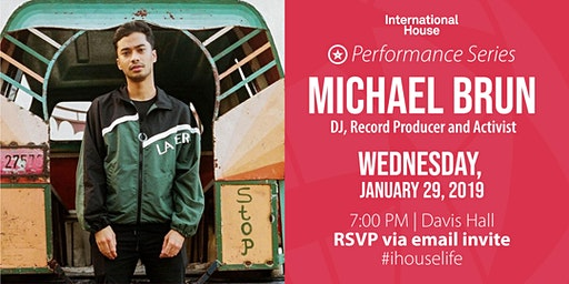 Performance Series: Michael Brun, DJ, Record Producer and Activist