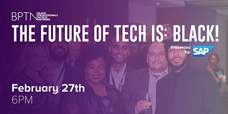 BPTN Presents - The Future of Tech is: Black! (Montreal Edition) billets