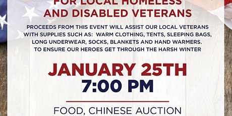Guest Bartender Night for Local Homeless  & Disabled Veterans tickets