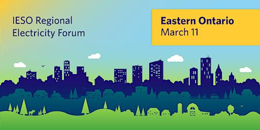 IESO Eastern Regional Electricity Forum