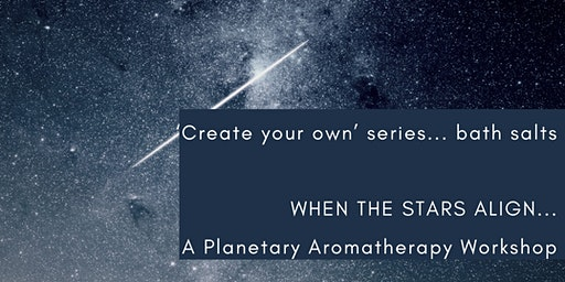 A Planetary Aromatherapy Workshop