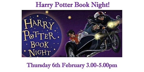 Cheltenham Children's Library - Harry Potter Night 2020  Drop-in event tickets