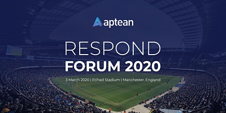 Aptean Respond Forum 2020 tickets