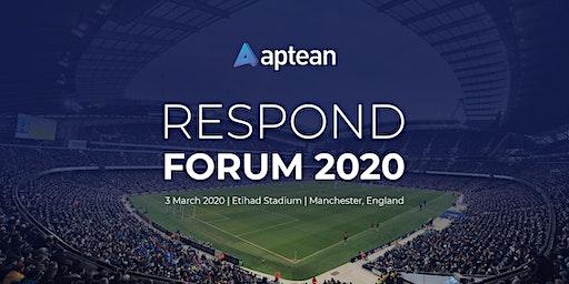 Aptean Respond Forum 2020
