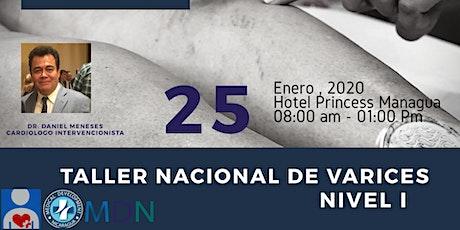 Taller Nacional de Varices Nivel I tickets