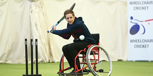 UK Wheelchair Cricket 'Have a go' Day