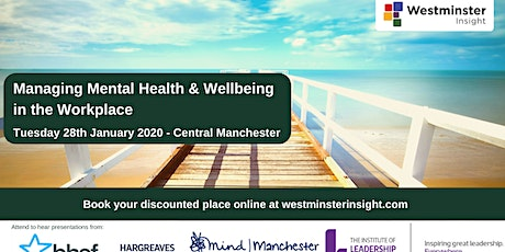 Managing Mental Health & Wellbeing in the Workplace tickets