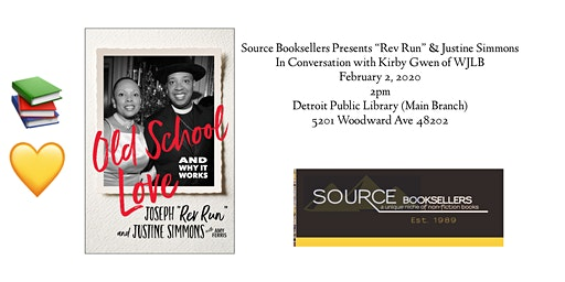 Old School Love  And Why it Works Book Event w/ Rev. Run &Justine Simmons