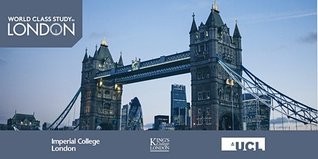 World Class Study in London Exhibition, Hong Kong 2020 tickets
