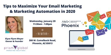 Tips to Maximize Your Email Marketing & Marketing Automation in 2020 tickets