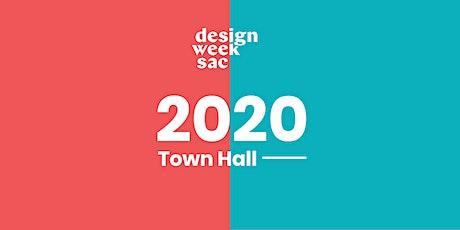 Design Week Sacramento 2020 Town Hall tickets