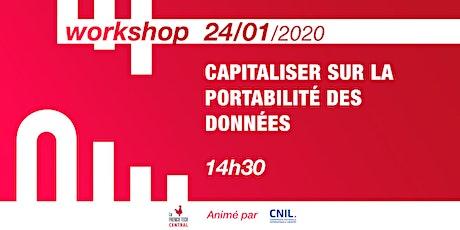 Workshop Capitaliser sur la portabilité des données @CNIL billets