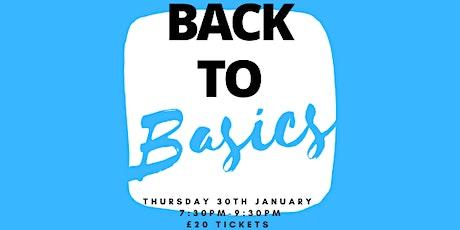 Back to Basics Wine Tasting, Didsbury - 30.01.2020 tickets