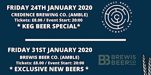 Meet the Brewer: Tryanuary Series